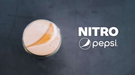 Nitrogen-Infused Soft Drinks