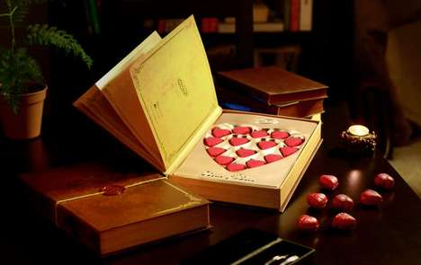 Book-Shaped Chocolate Boxes