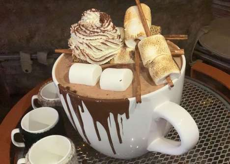 20-Pound Hot Chocolates - PHD Terrace at Dream Midtown is Serving Up a Giant Hot Chocolate