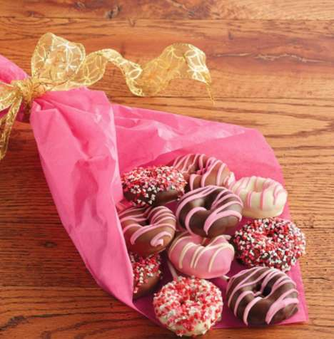 Romantic Donut Bouquets