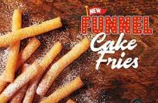 Sweet Funnel Cake Fries