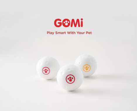 Automatic Wi-Fi-Enabled Dog Toys - GomiBall is the Ultimate Tech-Savvy and Playful Toy Ball for Dogs