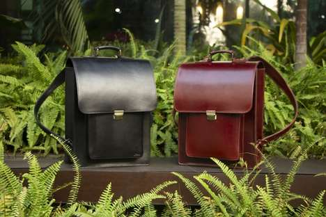 Handmade Buffalo Leather Bags - Jillanie is a Stunningly Elegant and Fashion-Forward Bag for Men