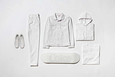 Subtly Branded All-White Collections