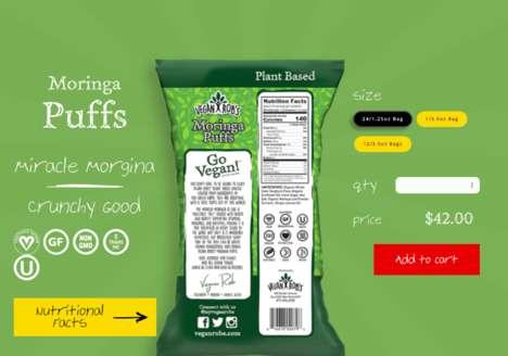 Plant-Based Crunchy Snacks