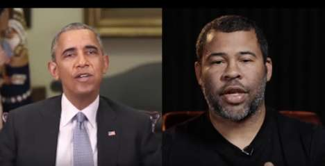 Awareness-Raising Deepfake Videos - Key & Peele Launches a Obama Deepfake Video to Warn Users