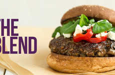 Sustainable Blended Burgers - The Blenditarian Pushes the Agenda of Blended Meat with Tasty Recipes