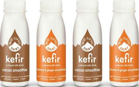 Health-Focused Cultured Milk Drinks