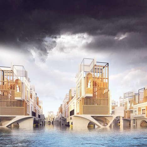 Flood-Proof Modern Georgian Architecture