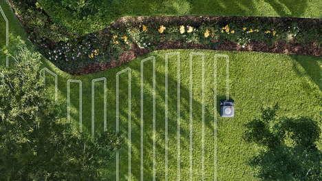 Autonomous Robot Lawn Mowers