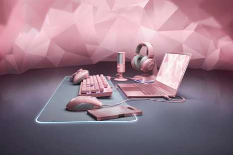 Delicate Pink Gaming Laptops