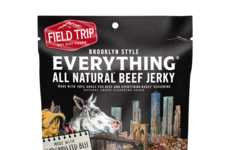 Bagel-Flavored Jerky Snacks - Field Trip's Seasoned Jerky Shares the Taste of an Everything Bagel