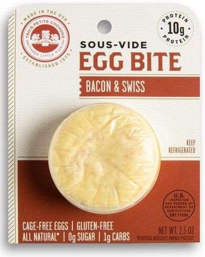 Sous-Vide Egg Snacks