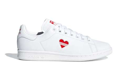 Low-Top Heart Sneakers