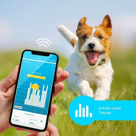 Holistic Pet Lifestyle Wearables - The 'PETBLE' Pet Tracker Keeps an Eye on Activity and More