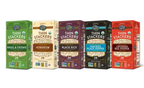 Thin Health-Conscious Rice Cakes