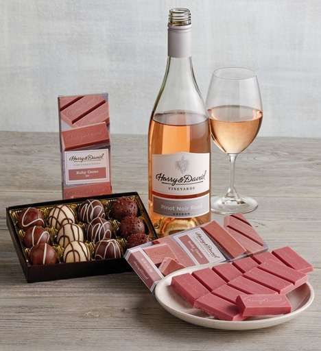 All-Pink Chocolate Pairings