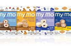 Triple-Layered Mochi Snacks - My/Mo Mochi Ice Cream Now Comes with Decadent Filled Centers