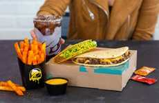 Hearty Steak Sandwich Pairings - Taco Bell's New Double Steak Melt Deluxe Box is Whole Meal in a Box