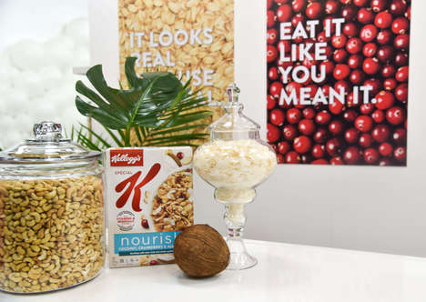 Artistic Health Pop-Ups - Special K's Escape the Nonsense Breaks Myths & Promotes Healthy Nutrition
