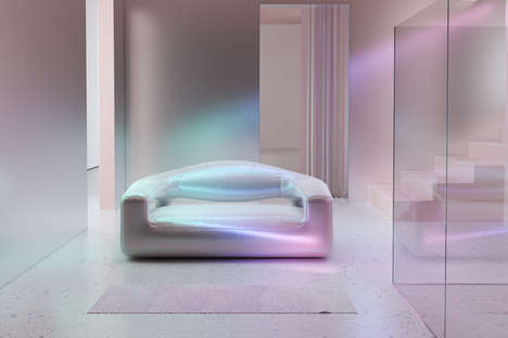 Chic Iridescent Furniture Capsules