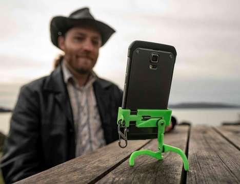 Smartphone Kickstand Keychains