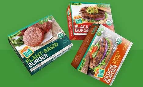 Gourmet Prepackaged Veggie Burgers