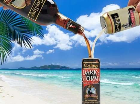 Canned Caribbean Mixed Drinks
