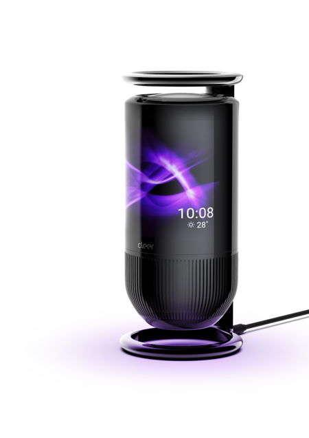 Curved Display Smart Speakers