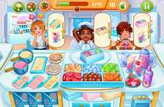 Branded Candy Boutique Games - Big Fish Games & Sugarfina Collaborated on an Event in Cooking Craze