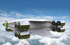 Futuristic Delivery Aircrafts