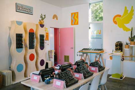 Playfully Interactive Music Pop-Ups - The Moog House of Electronicus Temporarily Opened in LA