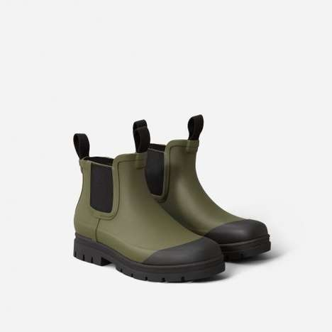 Sustainable Rugged Rain Boots