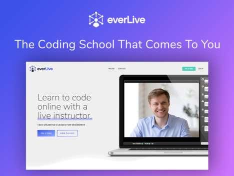 Livestream Instructor Coding Classes