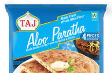 Authentic Frozen Parathas - Taj Foods Offers Indian Bread with Homemade and Stuffed Options