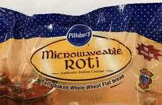 Microwavable Frozen Roti Snacks - Pillsbury Taps Indian Cuisine with an Easy-to-Make Roti Recipe