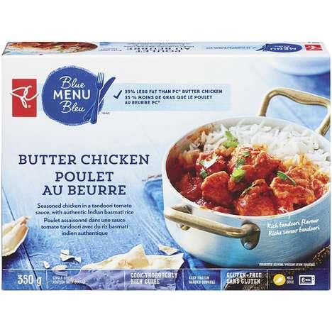 Low-Fat Butter Chicken Recipes