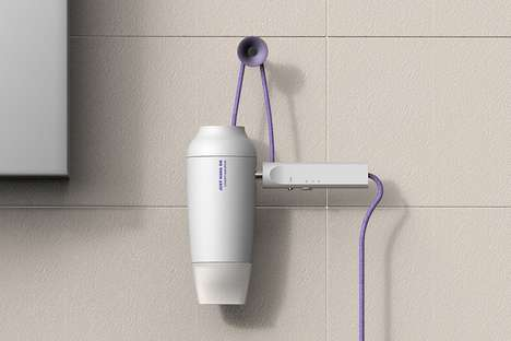 Hanging-Friendly Haircare Appliances