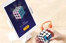 App-Connected Puzzle Cubes