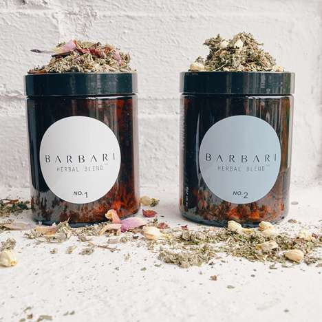 Bouquet-Inspired Smoking Herbs - Barbari's Herbal Blends Promote Relaxation and Mental Clarity