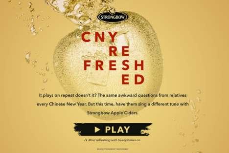 ASMR Cider Campaigns