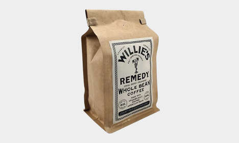 CBD-Infused Musician Coffees - Willie's Remedy Coffee is Made in Small Batches with CBD Oil