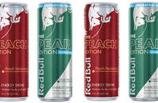 Artisan Flavor Energy Drinks - The New Red Bull Energy Drink Flavors are Refreshingly Crisp