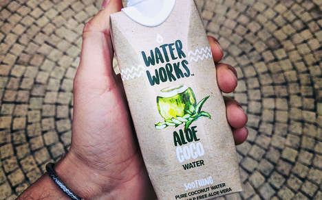 Soothing Aloe-Infused Coconut Waters