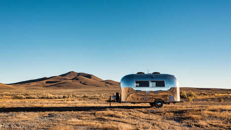 Vintage Mobile Office Trailers