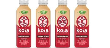 Spiced Plant Protein Drinks