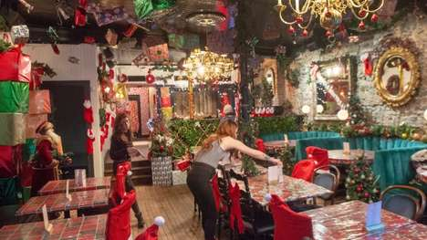 Festive Christmas Pop-Up Bars