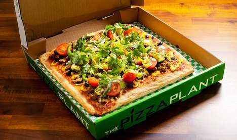 Plant-Based CBD Pizzas