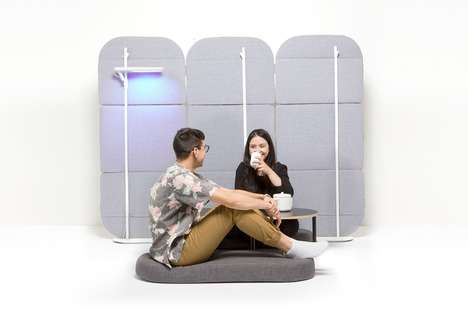 Co-Living Space Privacy Dividers