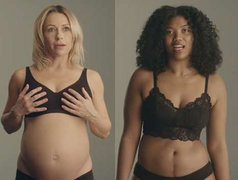 Size-Inclusive Empowering Supermarket Campaigns - Sainsbury's and Portas Launch #AllBoobsWelcome